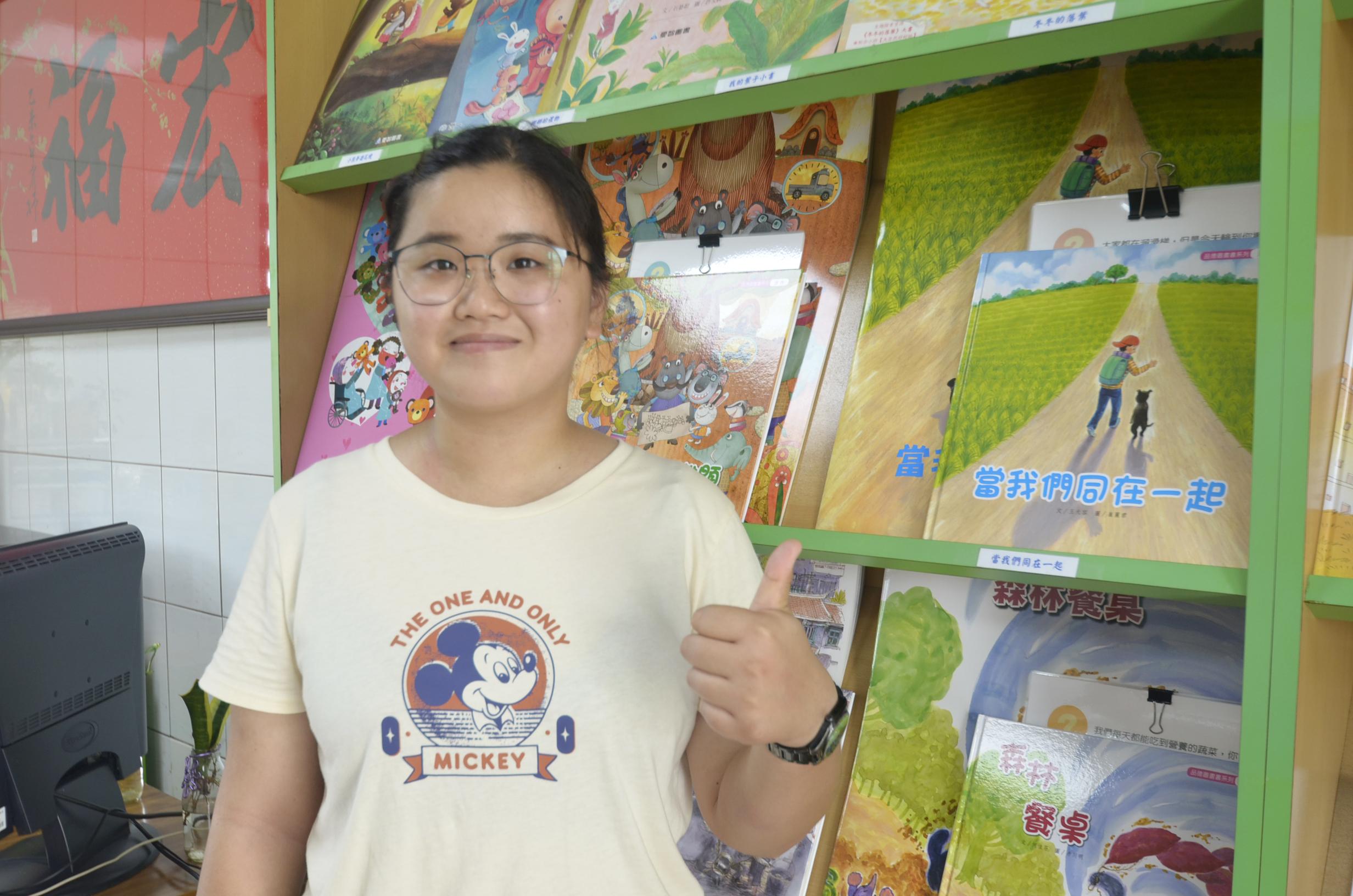 ▲李元琇感謝政府有跨域就業津貼方案補助,讓她能勇敢離家當外漂族追夢。